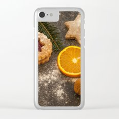 Christmas cookies Clear iPhone Case