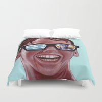 butt Duvet Covers featuring This Magic Moment by Jared Yamahata