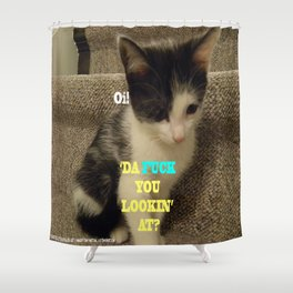 Sophia The Cat #3 [Tex's Owner] Shower Curtain