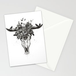 Dead summer (bw) Stationery Cards