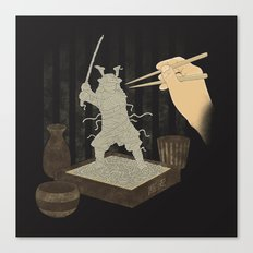 Soba Samurai Canvas Print