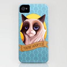 Grumpy Cat Slim Case iPhone (4, 4s)