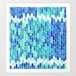 Water Mosaic Art Print