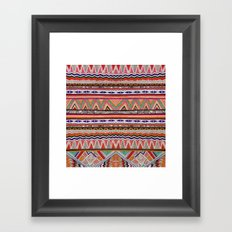 TRIBAL NOMAD Framed Art Print
