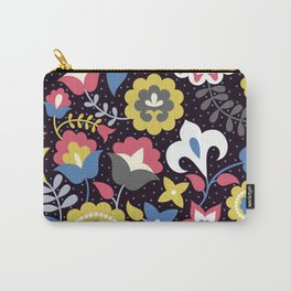 Flowers motives Carry-All Pouch