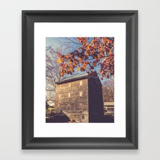 Rock Mill Framed Art Print