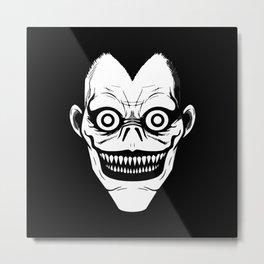 The Boredom Eyes Metal Print