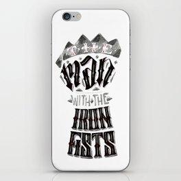 The Iron Fist Calligram iPhone Skin