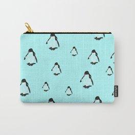Penguins blue Carry-All Pouch