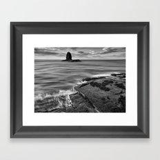 Black Nab Framed Art Print