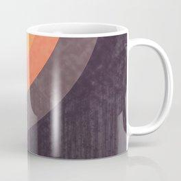 Moldovan Sunset - Retro Circles Coffee Mug