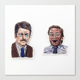 Ron + Andy Canvas Print