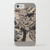 headdress iPhone & iPod Cases featuring Headdress by creative kids