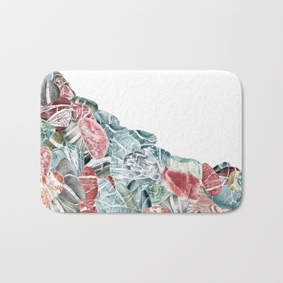 Coral Sea Pebbles Bath Mat