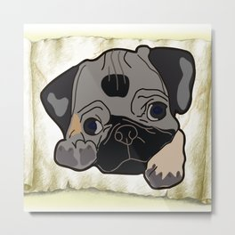 beautiful dog Metal Print