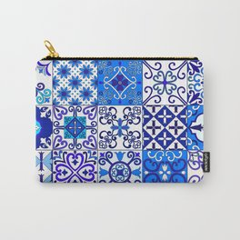 Moroccan Tile islamic pattern Carry-All Pouch