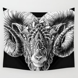 Ram Head Wall Tapestry