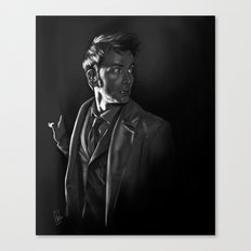Stepping Out - Doctor Who Canvas Print