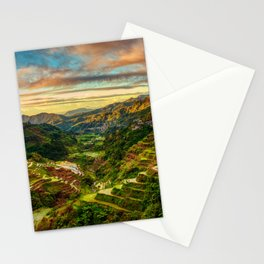 Banaue Rice Terraces Stationery Cards