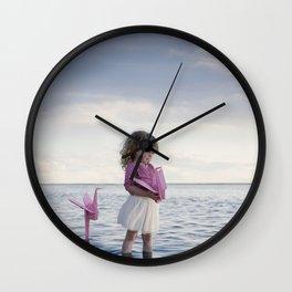 Le monde plié d'Anaé Wall Clock