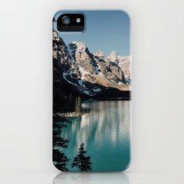 Moraine Lake Morning iPhone Case