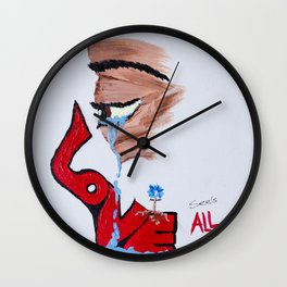 Love See's All Wall Clock