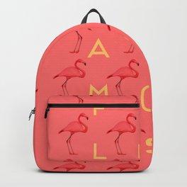 Flamingos #4 Backpack