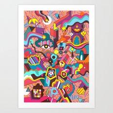 Schema 18 Art Print