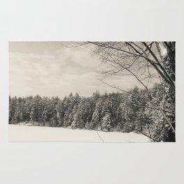 Peaceful Winter Snows  Rug