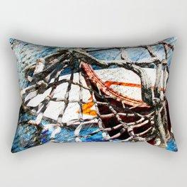Art Of Basketball Hoop Rectangular Pillow