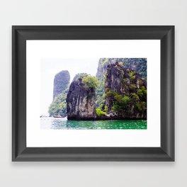 Cliffs in Thailand Fine Art Print  • Travel Photography • Wall Art Framed Art Print