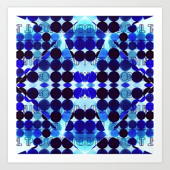 FREEZING POINT Art Print
