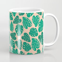 Cheese Plant - Trendy Hipster art for dorm decor, home decor, ferns, foliage, plants Coffee Mug