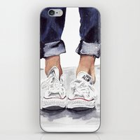 converse iPhone & iPod Skins featuring Converse by Bridget Davidson