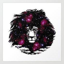 Dr. Leon Astro Art Print