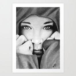 The Storm Siren Art Print