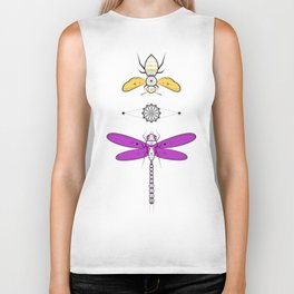Two Insects Biker Tank