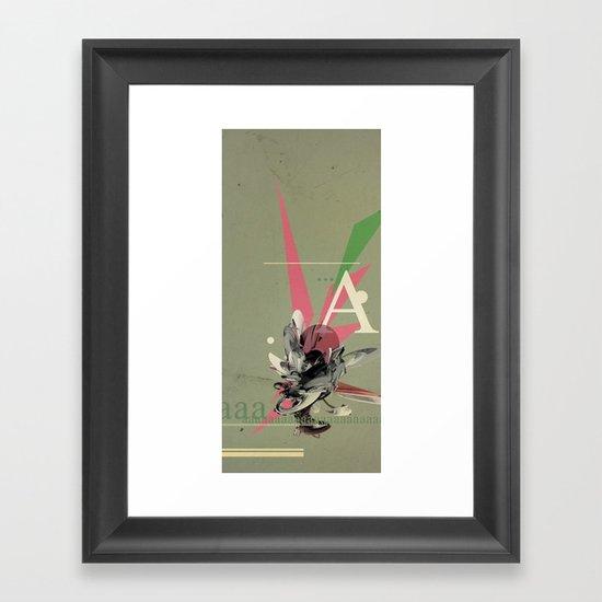 (Times) A Framed Art Print