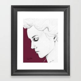 Cecilia A Framed Art Print