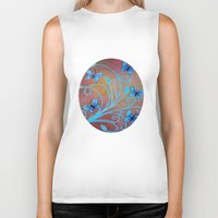 butterflies Biker Tanks featuring Butterflies by maggs326