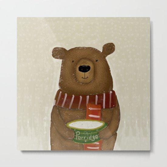 breakfast for bears Metal Print