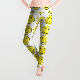 Smiley Face | Retro 70's | Vintage 70's Graphic Leggings