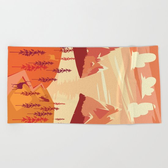 My Nature Collection No. 29 Beach Towel