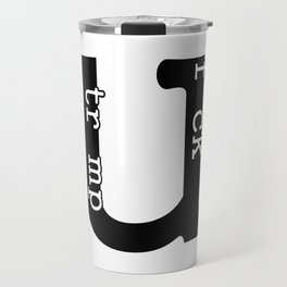 Fuck Trump Travel Mug