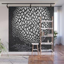 Diamonds and Dots Wall Mural