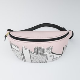 Architecture Mixes in Brussels Fanny Pack