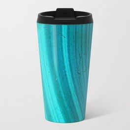 Turquoise Halos Travel Mug