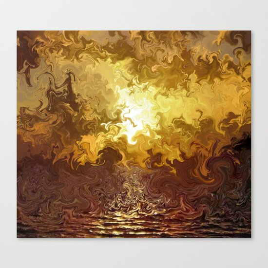 Reflection of Desire Canvas Print