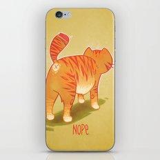 Nope. iPhone & iPod Skin