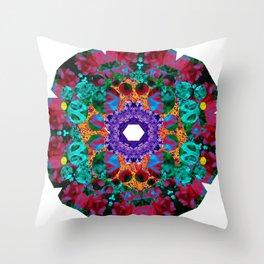 Flower Eye Throw Pillow